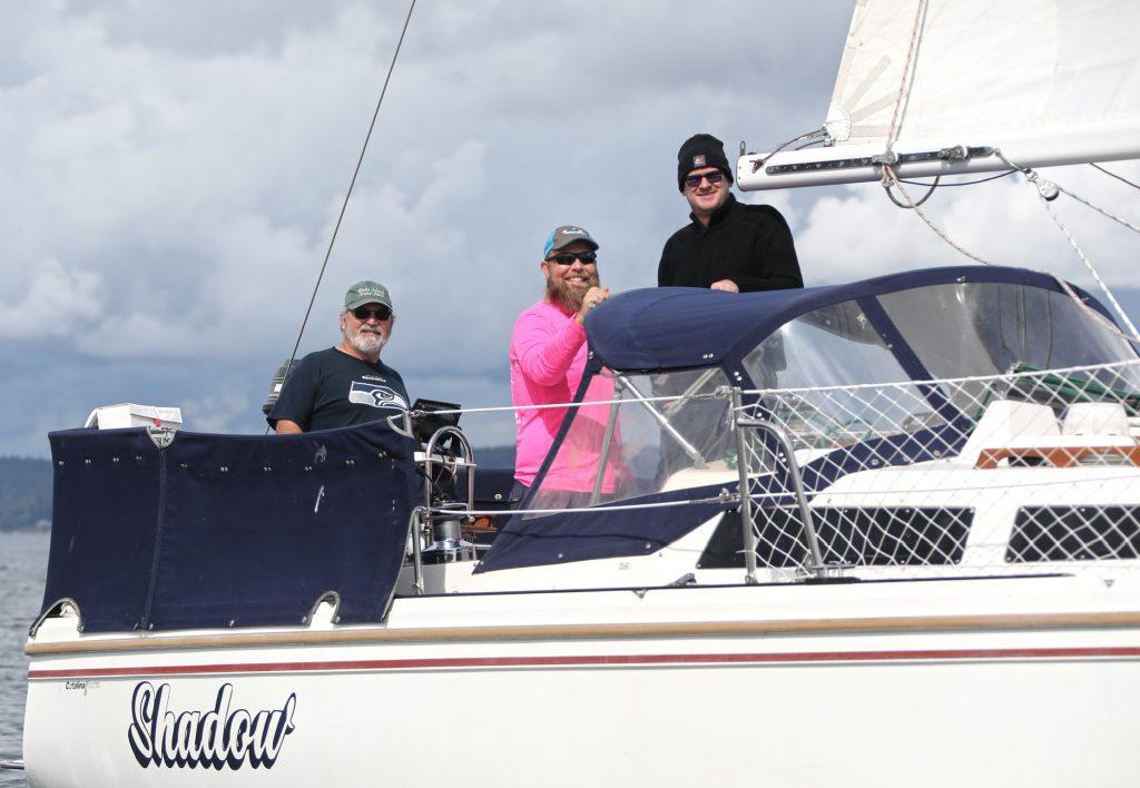S/V Shadow's 2021 Pink Boat Regatta Team