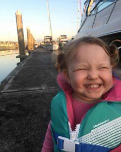 Clara Lobaugh happy to sail