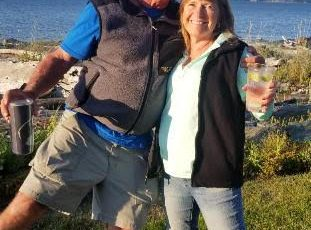 Roger and Julie at Mike's August 2019