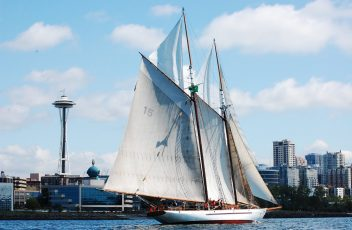 picture 7. SV ADVENTURESS off Seattle WA
